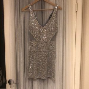 Short sparkly New Years dress